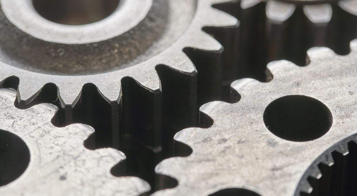 cogs of machine